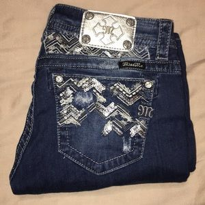 Miss Me Signature Skinny Jeans size 30
